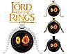 Подвеска стеклянная Властелин колец Lord of the Rings прикольный Кольцо Всевластия и око Саурона