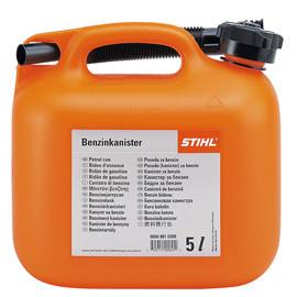 Каністра для бензину 5 л, оранжева