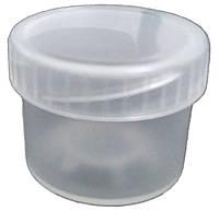 Пластиковая тара контейнер (баночка) емкость для красок, глиттера 16 мл.