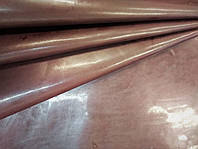 Кожа  ЛАК блеск, коричневый, фото 1