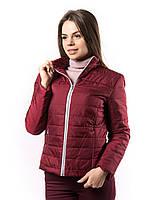 Куртка женская демисезонная на змейке KD377