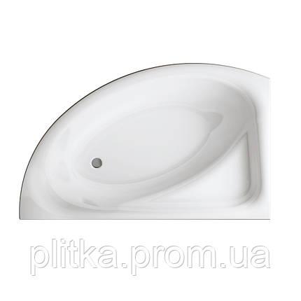 Ванна акриловая асимметричная MEZA 160x100 CERSANIT L + Панель, фото 2
