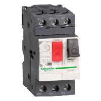GV2ME01 GV2 Автоматический выключатель с комбинированным расцеплением 0,1-0,16А