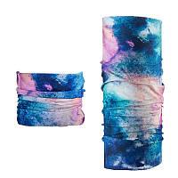 Бафф, многофункциональный аксессуар NatureHike Magic headscarf multi color NH17T020-J