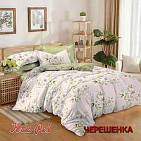 Семейный набор хлопкового постельного белья из Сатина №251 KRISPOL™