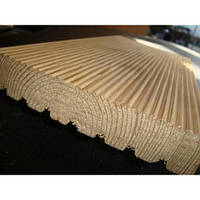 Палубная доска для террас сосна 130х30 мм