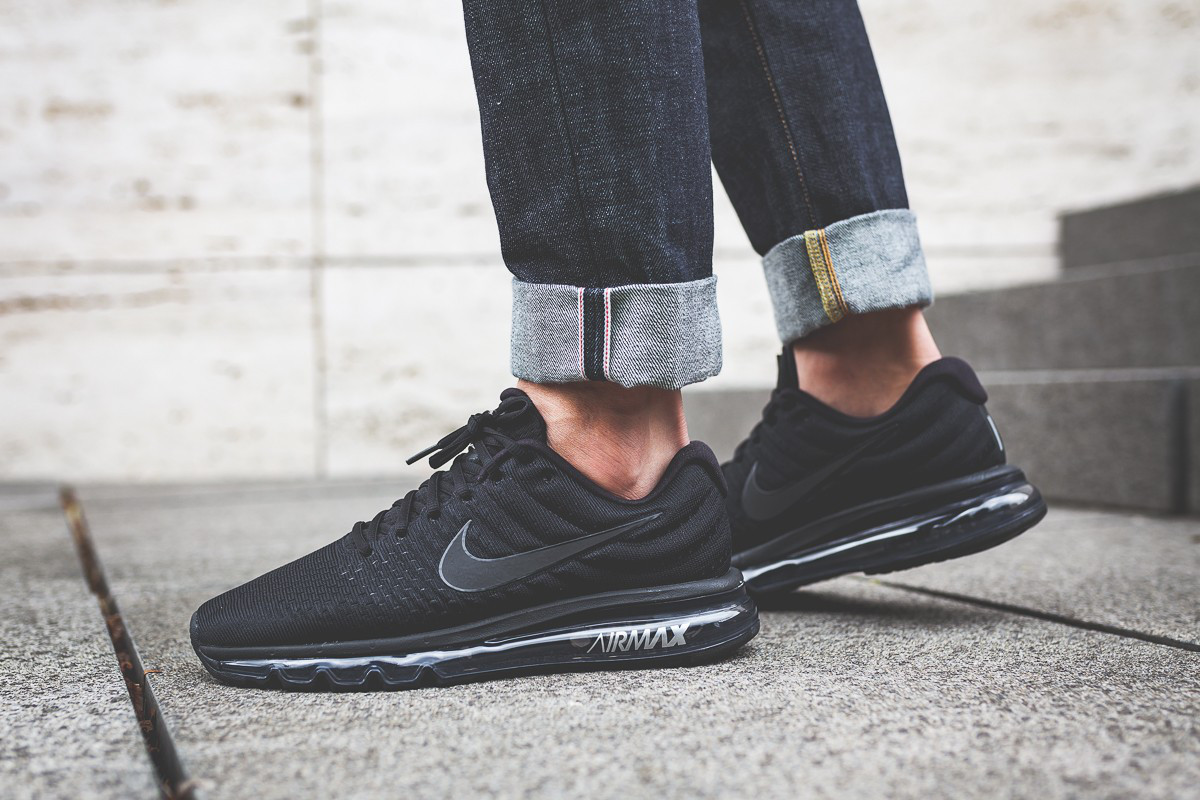 "Кроссовки Nike Air Max 2017 ""All Black"""