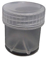 Пластиковая тара контейнер (баночка) емкость для красок, глиттера 13 мл.