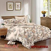 Семейный набор хлопкового постельного белья из Сатина №253 KRISPOL™