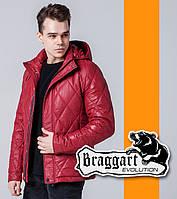 Braggart 1489 | Ветровка весенне-осенняя мужская бордовый
