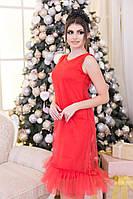 Платье из фатина 3065 рус.