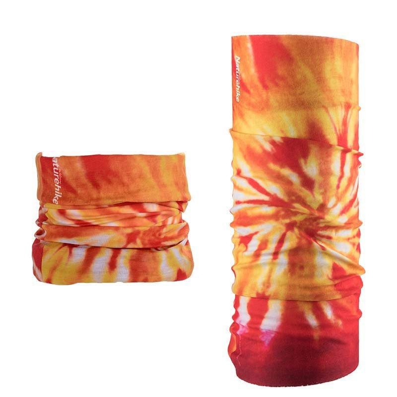 Бафф, многофункциональный аксессуар NatureHike Magic headscarf red flame NH17T020-J