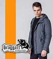 Braggart 1342   Ветровка весна-осень серый