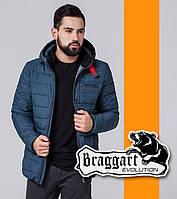 Braggart 1255   Весенне-осенняя ветровка темно-бирюзовый