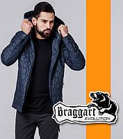 Braggart 1272   Ветровка мужская весна-осень темно-синий