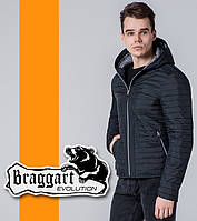 Braggart 1295   Ветровка весна-осень мужская черный