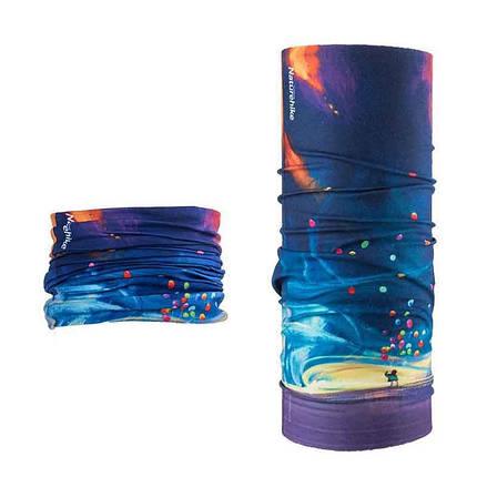 Бафф, багатофункціональний аксесуар NatureHike Magic headscarf colourful ballon NH17T020-J, фото 2