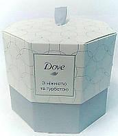 """Подарочный набор """"С нежностью и заботой"""" Dove"""