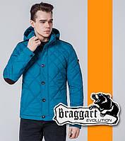 Braggart 1268   Ветровка мужская стеганая бирюзовый