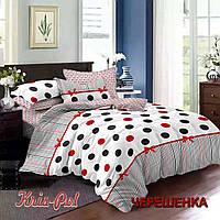 Двуспальный набор постельного белья 180*220 из Сатина №261AB KRISPOL™
