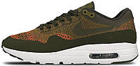 Мужские кроссовки Nike Air Max 1 Ultra Flyknit Найк Аир Макс 1 хаки