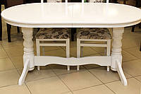 Обеденный стол в белом цвете, фото 1
