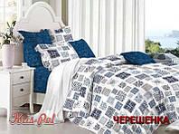 Семейный набор хлопкового постельного белья из Сатина №265AB KRISPOL™