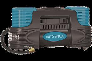 Компрессор автомобильный AW01-20 (двухцилиндровый), фото 2