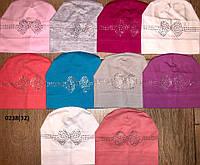 Весенняя шапочка для девочки 0238(32)