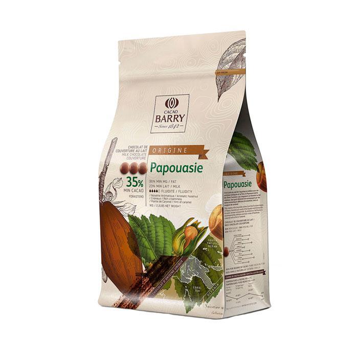 Шоколад Cacao Barry Origin Papouasie / Какао Баррі Папуа Нова Гвінея, 1 кг