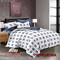 Полуторный набор постельного белья 150*220 из Сатина №272AB KRISPOL™