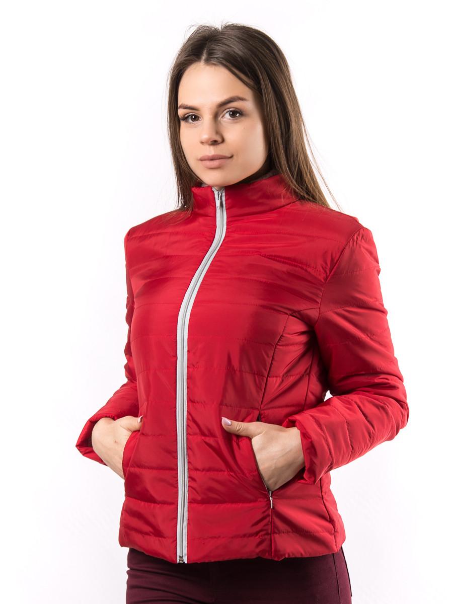 8947a6686f7 Женская Красная Демисезонная Куртка Украина KD1377 — в Категории ...