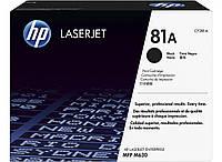 Картридж HP 81A LJ M604/M605/M606/M630 Black (10500 стр)