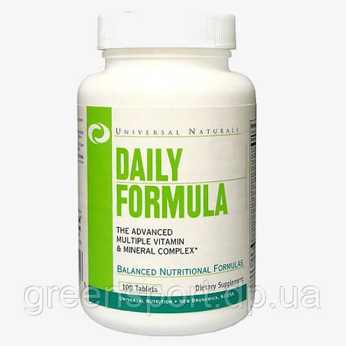 Витамины и минералы для спортсменов Universal Daily Formula (100 табл.)