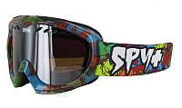 Очки горнолыжные Spy Targamini Dino Bronze / Silver Mirror TM13