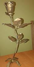 Роза кованая 420х200х70