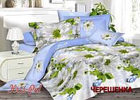 Двуспальный набор постельного белья 180*220 из Сатина №304 KRISPOL™