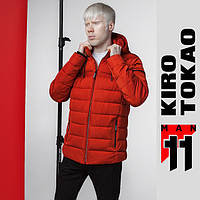 11 Киро Токао   Мужская куртка демисезонная 4541 красно-оранжевый