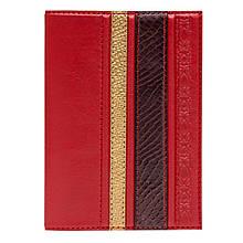 """Обложка на паспорт """"Savanna"""" (Makey) Красный"""