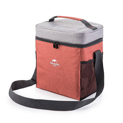 Сумка холодильник, ізотермічна сумка L 23х17х28см NatureHike NH17B001-B, фото 2
