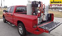 Термопластичная установка для нанесения дорожной разметки TITAN (WAGNER) Fast Melt 650