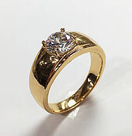 Кольцо Леди Ди, размер  19 ювелирная бижутерия XP