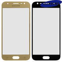 Стекло корпуса для Samsung J330F Galaxy J3 (2017), золотистое, оригинал