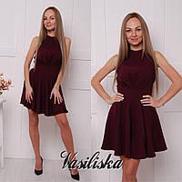 Стильное короткое платье ан-02742-1