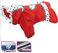 Одежда с защитой для собак Ferplast COCCINELLA RED TG 43