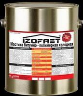 Мастика битумно-полимерная  для фундамента IZOFAST 10 кг