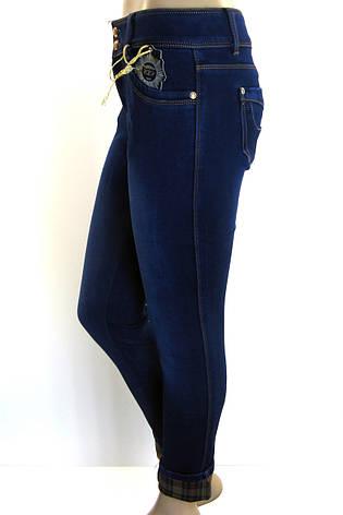 Жіночі зимові  джинси батали розпродаж, фото 2