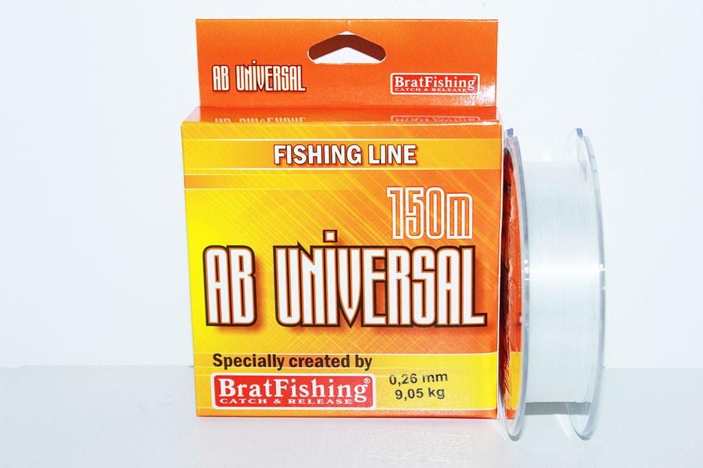 "Леска AB Universal 150м.""BratFishing"""