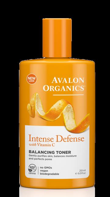 Балансирующий тоник с витамином С, биофлавоноидами лимона и экстрактом белого чая *Avalon Organics (США)*