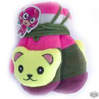 Детские варежки с мягкой игрушкой Shust Gloves